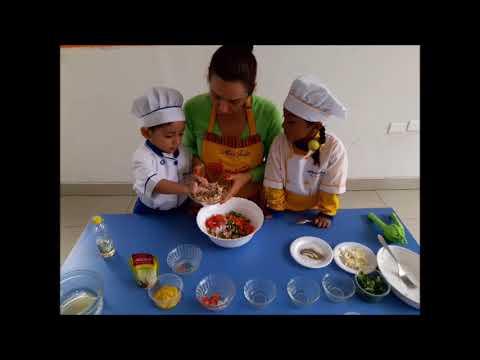 Receta f cil para ni os mini chef cocinando con la for Material para chef