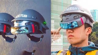 5 SMART TECHNOLOGY GADGETS INVENTION ▶ Smart Helmet You Can See Transparent Wall