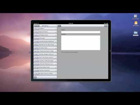 MGoBlog iPad