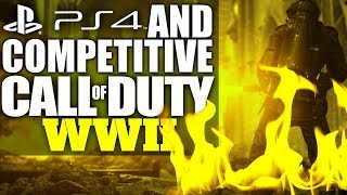 PLAYSTATION AND COMPETITIVE CALL OF DUTY! By Jukelicous (CALL OF DUTY WW2 BETA GAMEPLAY) thumbnail