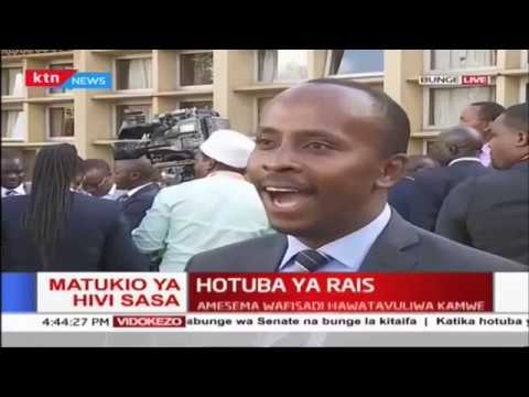 Various leaders react to Uhuru&39;s state of the Nation address