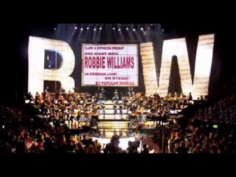 Robbie Williams:  at the Albert Have You Met Miss Jones?