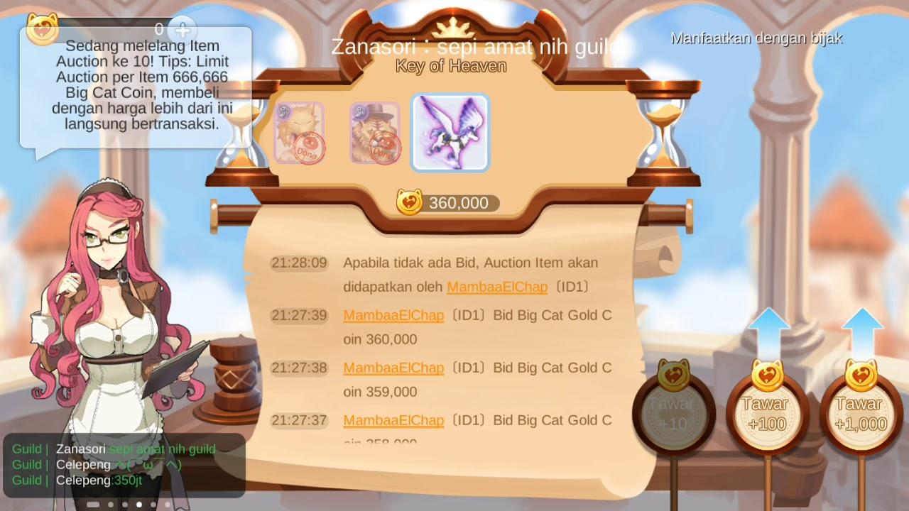 Key Of Heaven Laku 360 000 Bcc Auto Jual Rumah Ragnarok Mobile Youtube