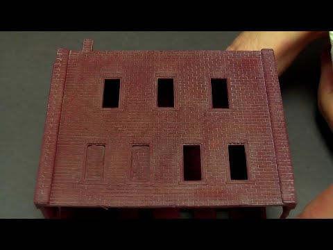 N Scale Detail & Weathering Brick Buildings 7-1-13 Podcast