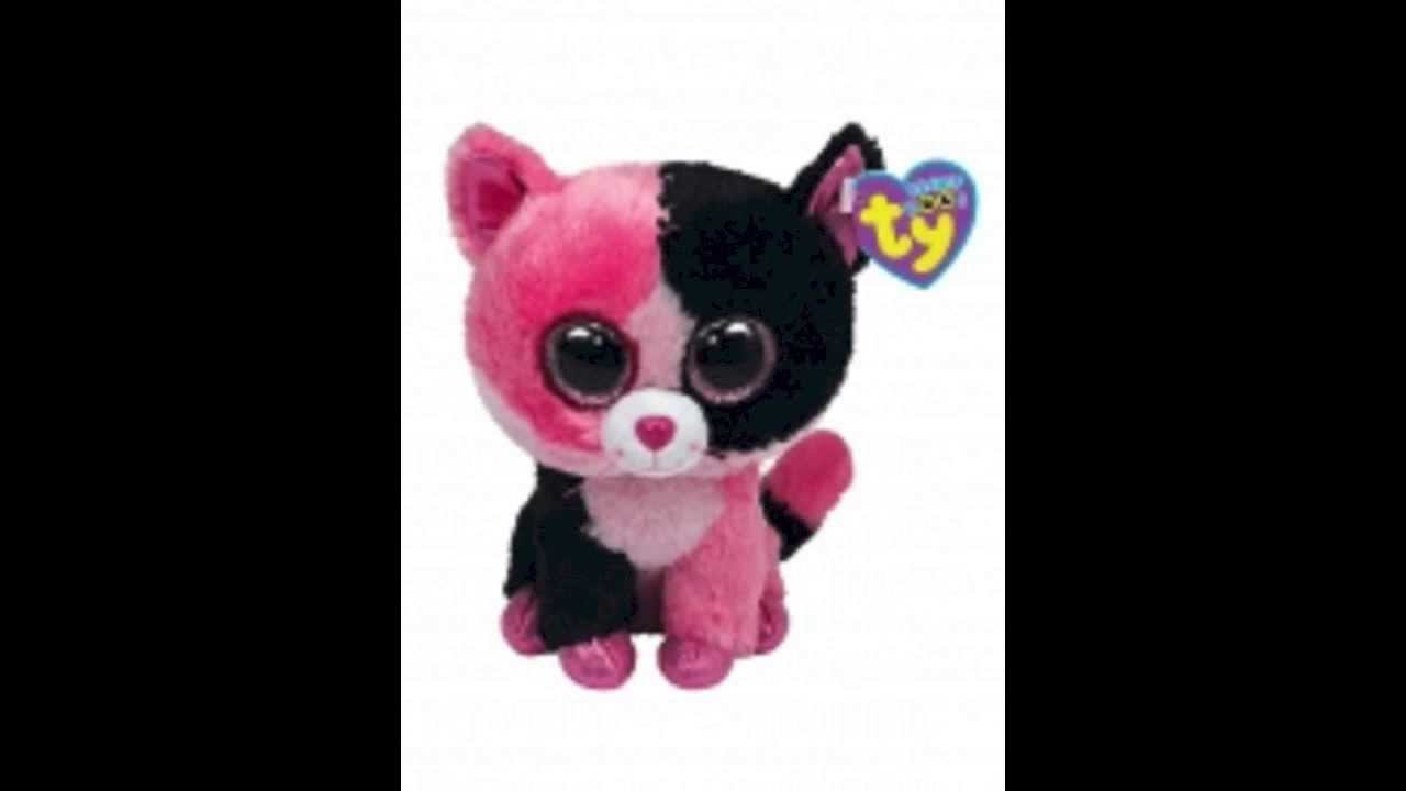 1fecee23d49 New Beanie Boo - ColorBlock the Cat and Beanie Boo Retirement ...