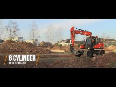 Doosan Wheeled Excavator Features FAMILY | Doosan Equipment Europe