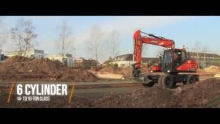 Doosan Wheeled Excavator features FAMILY