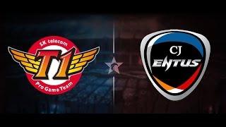trận 1 skt vs cj bo3 highlight lck ma h 2016 26 7 2016