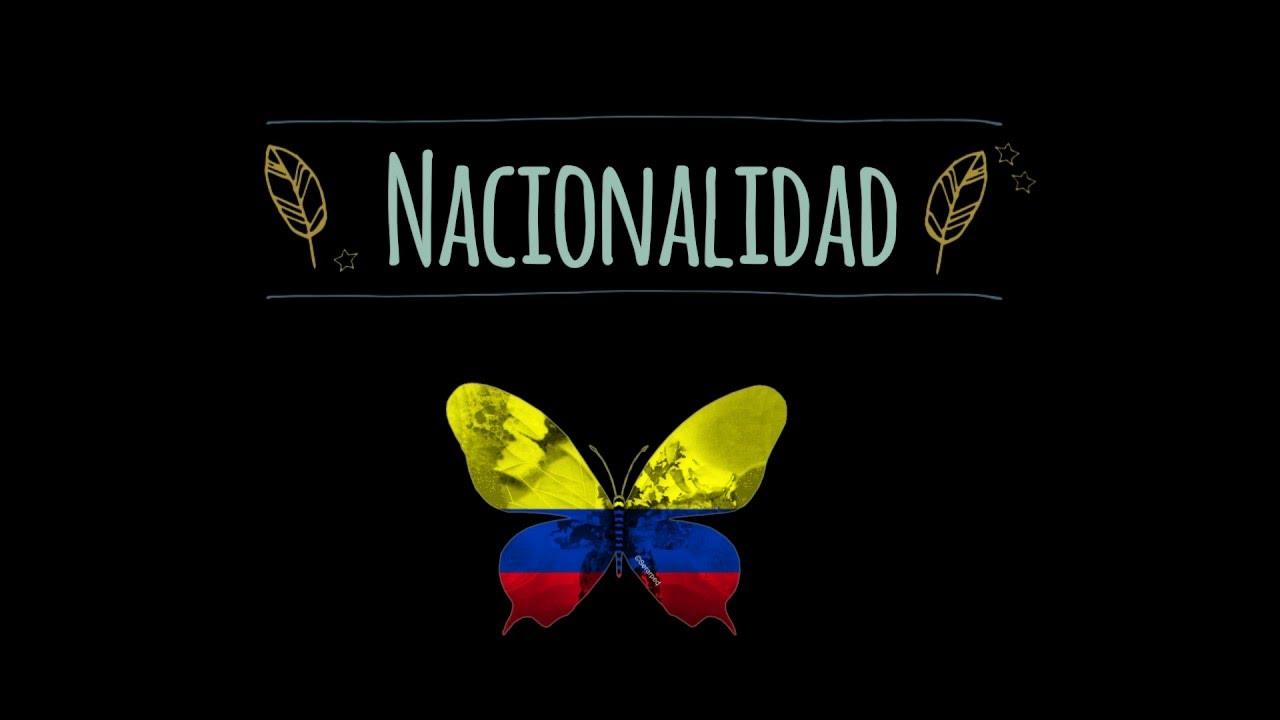 Formas de adquirir la nacionalidad colombiana.