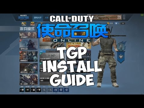 CALL OF DUTY ONLINE TGP INSTALL GUIDE!
