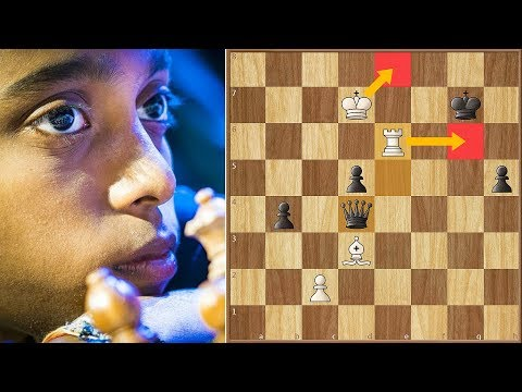First Contact! | Praggu vs Anand | Tata Steel Chess India Blitz (2018)