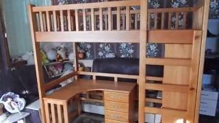 кровать-чердак с дерева(, 2016-10-01T08:09:33.000Z)