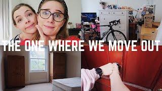THE ONE WHERE WE MOVE OUT | VLOG | Georgie Ashford