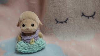 실바니안 아기의 귀여운 파스텔톤 뜨개질 옷 만들기!