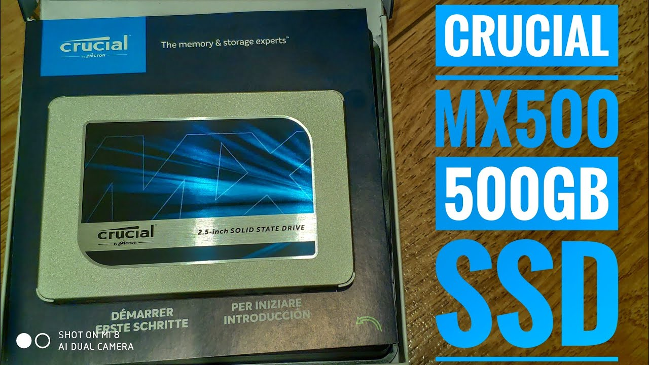 Crucial Mx500 500gb Ssd From Amazon De 4k Ultrahd Youtube