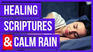 Healing Bible Verses for sleep with God's Word (Healing Scriptures & Soft Rain)(Peaceful Scriptures) screenshot 4