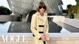Paris Fashion Week Highlights: Vogue's Anna Wintour on All the Top Shows