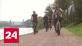 Москву и Санкт-Петербург свяжет уникальная велотрасса - Россия 24