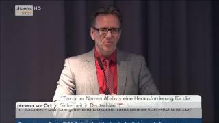Terrorbekämpfung: Rede von Holger Münch am 27.05.2015
