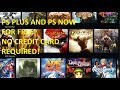 How to get PS PLUS FOR FREE for PS3/PS4 + How to get PS NOW for PC | NO CREDIT CARD REQUIRED 2018