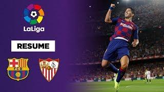 Liga : Barcelone cartonne Séville !