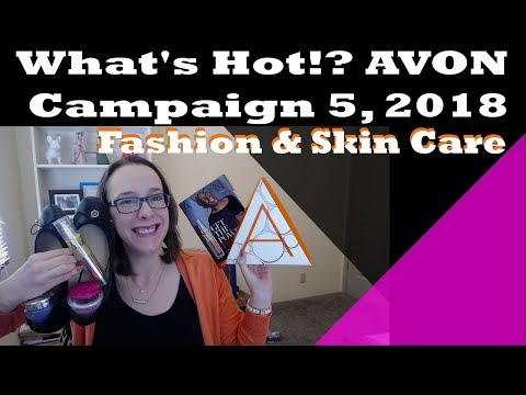 What's Hot!? Avon Campaign 5, 2018 - Free Anew Power Serum