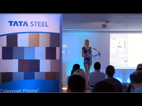 A World of Colour – Colorcoat Prisma® architect event