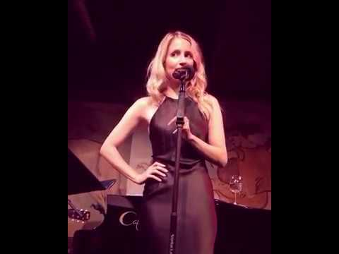 "Dianna Agron singing ""Dance Me to the End of Love"" by Leonard Cohen"