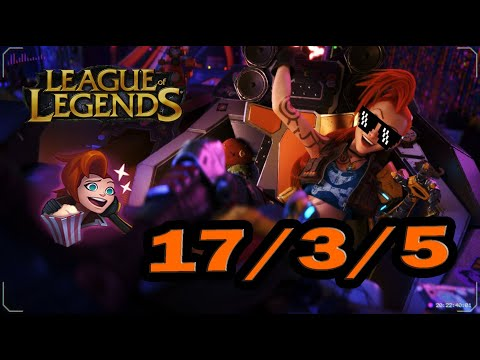 JINX ODYSSEY SKIN IS 100% BETTER-League Of Legends Odyssey Jinx Montage