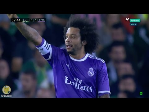 Marcelo Vieira vs Real Betis 720p HD 15/10/16 by RealMadrid.Universe