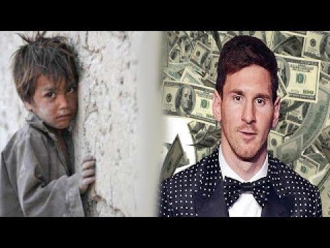 10 لاعبين كرة قدم ولدوا فقراء وأصبحوا الآن من أصحاب الملايين !!