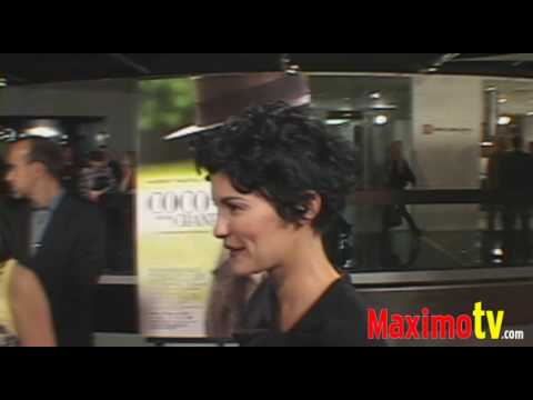 AUDREY TAUTOU Interview at  'COCO BEFORE CHANEL' Premiere 09-09-09