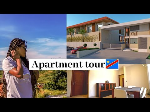 What 2500$ can get you in Congo - Apartment tour |Congolese YouTuber|JessiLove