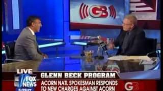 ACORN Natl Spokesman Gets Kicked Off The Set By Glenn Beck