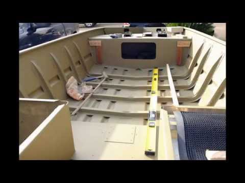 Tracker Grizzly 1448 Jon Boat To Bass Boat Conversion