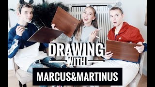 Drawing w/MARCUS & MARTINUS