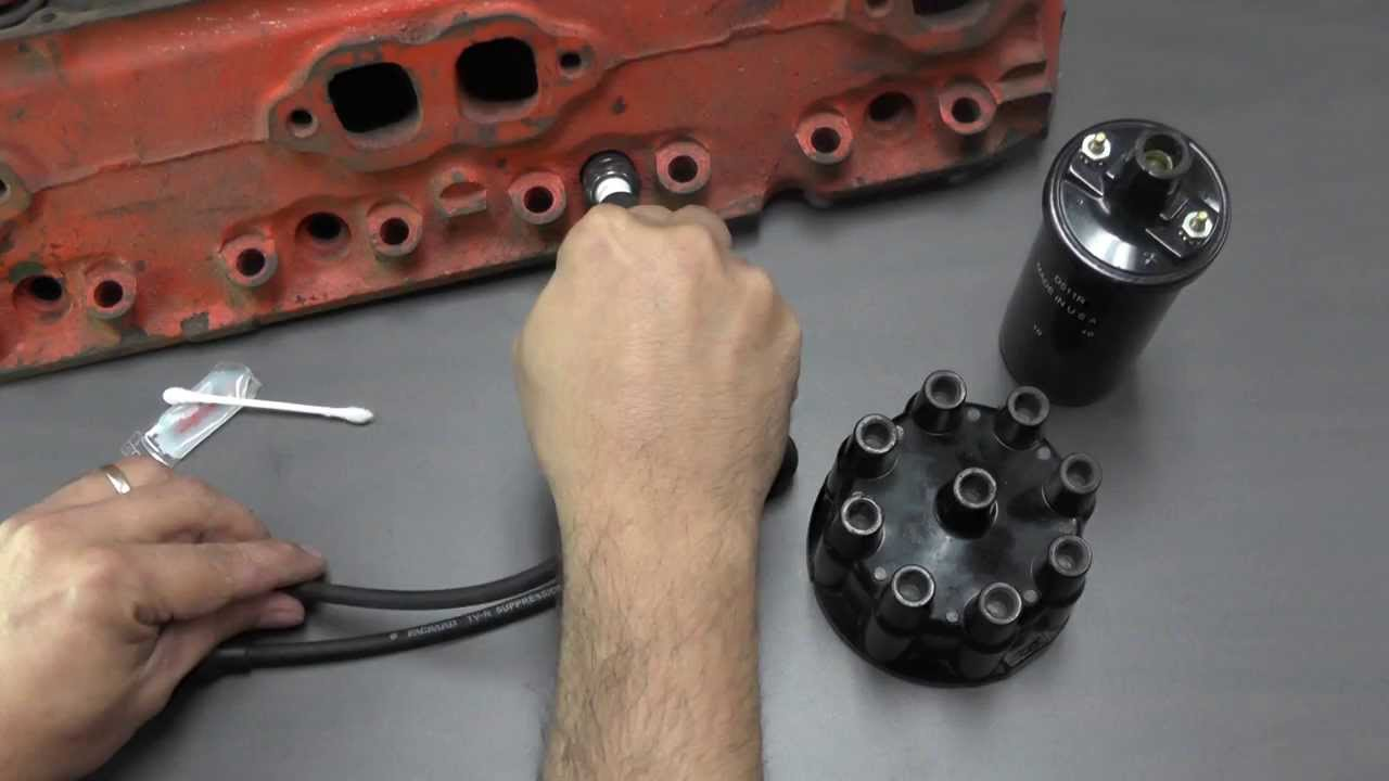 How To Properly Use Dielectric Grease On Spark Plug Wires - YouTube