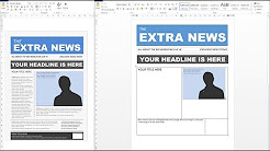 newspaper templates for google docs youtube