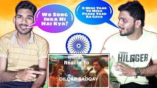 Indian Reaction On Dildar Sadqay, Jawed Ahmad, Elizabeth Rai - Coke Studio 11