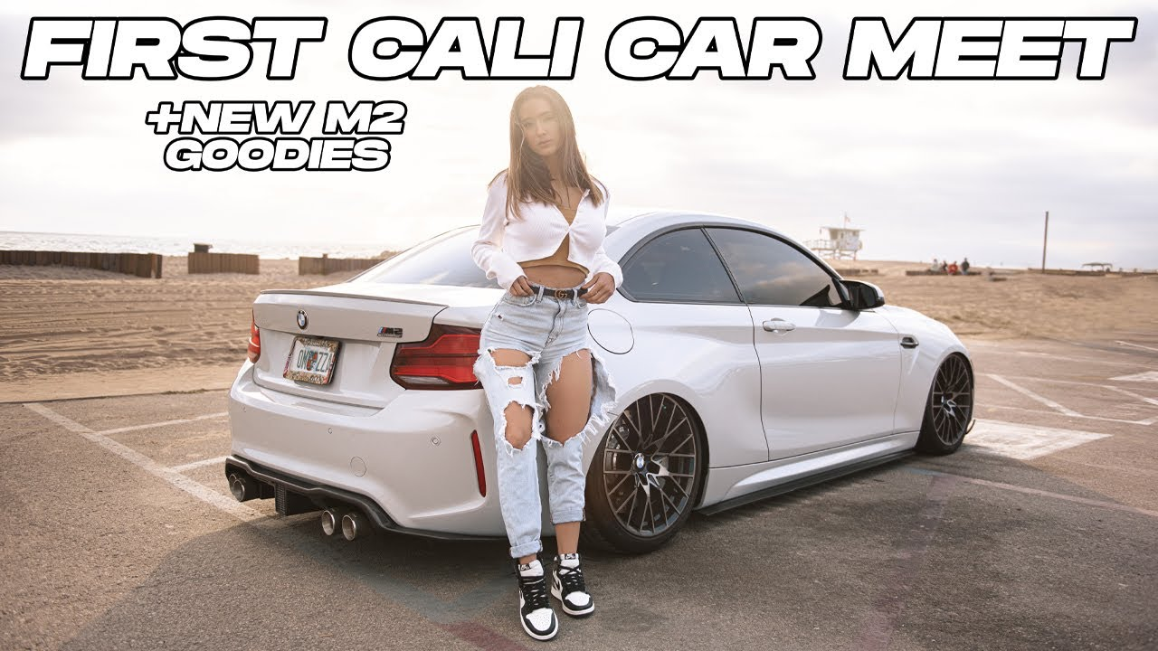 TAKING THE M2 TO ITS FIRST CALI CAR SHOW! | NATALIE ROUSH