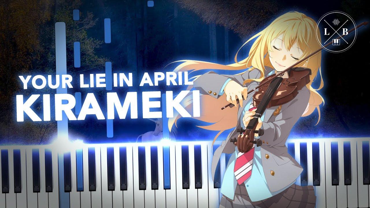 Your Lie In April - Kirameki - Piano