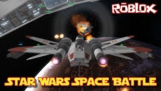 Roblox Let's Play and Review: Star Wars Space Battle