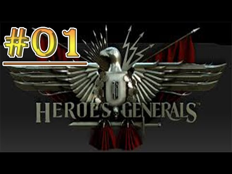 Heroes & General GamePlay #01 New Steam Free To Play [ITA]