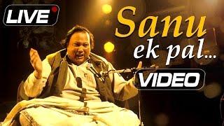 Sanu Ek Pal Chain Na Aave - Nusrat Fateh Ali Khan Live | Top Pakistani Sufi Songs