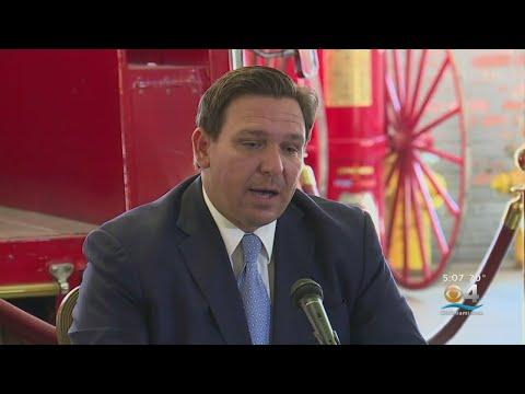 Florida Gov. Ron DeSantis Addressed Rebbeca Jones' Home Search