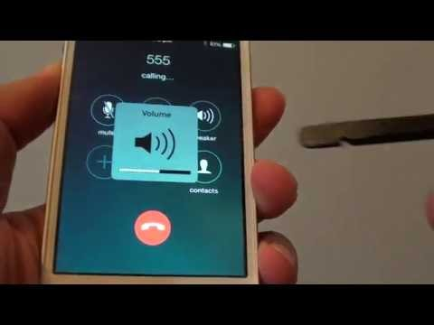 iPhone 4S: Fix Faulty Volume Ringer Bar Disappear