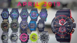 Gambar cover APRIL 2019 New release G-Shock watches - First thought & impressions