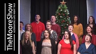 Newport Community Voices performs some classic Christmas tunes