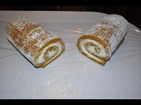 How to make: Pumpkin Roll with out cracking!!
