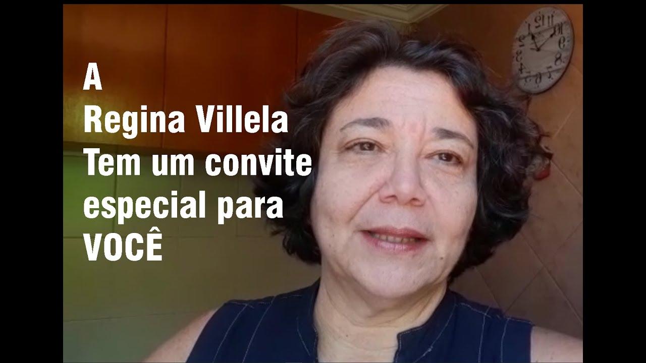 A Regina Villela tem um recado especial para você!